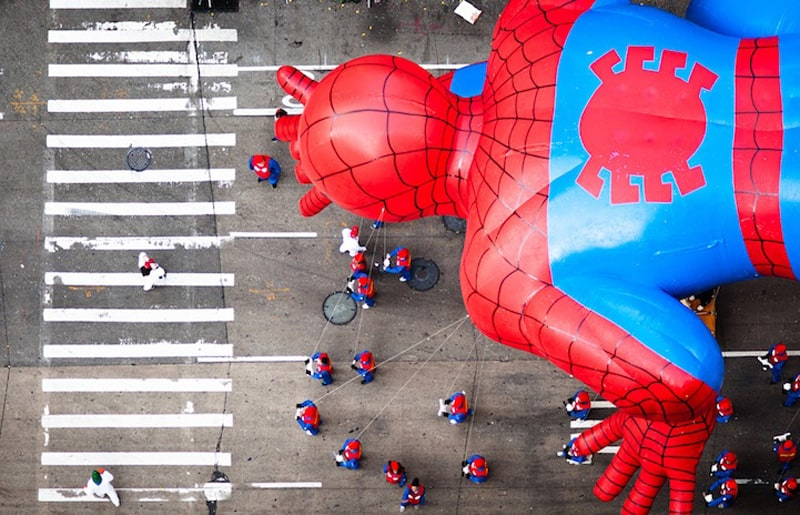 Incredible Rooftop Shots of the Macy's Thanksgiving Day Parade