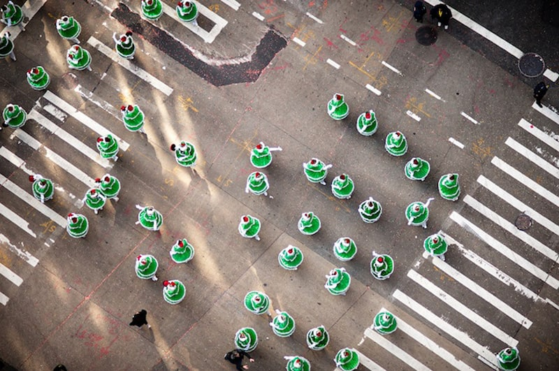 Incredible Rooftop Shots of the Macy's Thanksgiving Day Parade -NYC