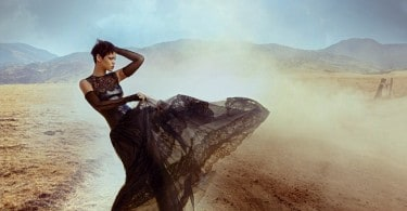 Rihanna by Annie Leibovitz for Vogue US