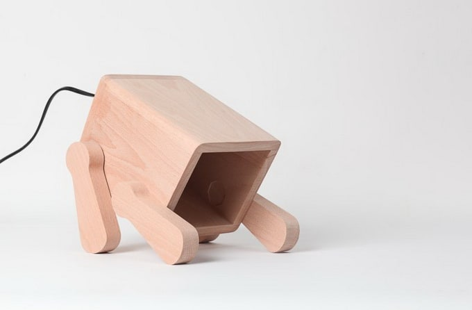 The Frank Lamp by Pana Objects -dog