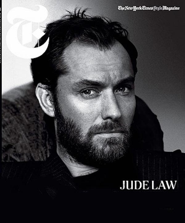 30112012 jud 650x0 - Jude Law: The New York Times Style Magazine's Holiday 2012