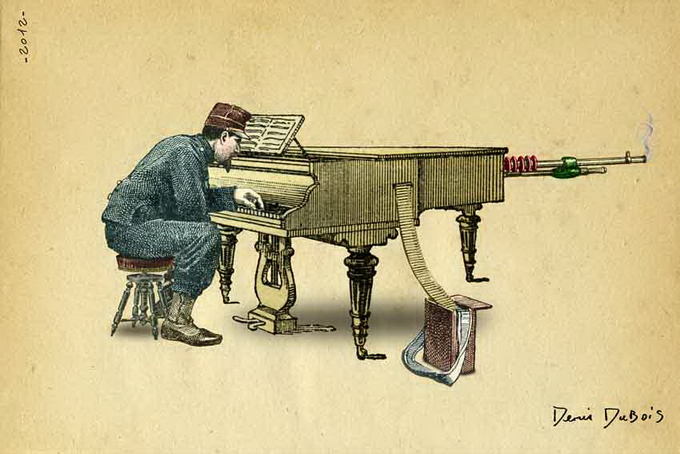 Surreal Illustrations by Denis Dubois -surrealism