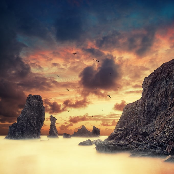 Beautiful Infrared Photography by David Keochkerian -photographer, landscapes