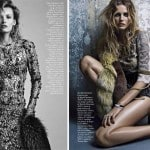 Edita Vilkeviciute in Vogue Spain January 2013