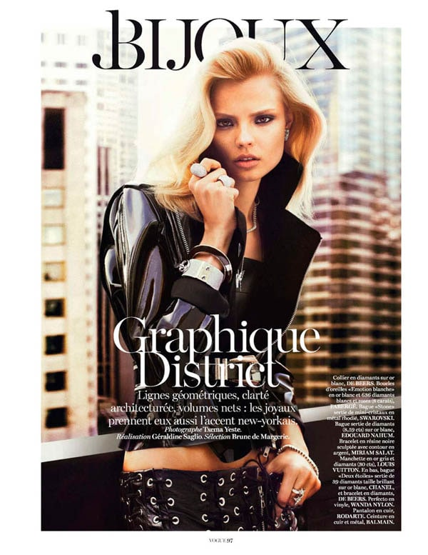MagdalenaBeauty1 - Magdalena Frackowiak for Vogue Paris