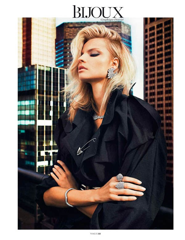 MagdalenaBeauty3 - Magdalena Frackowiak for Vogue Paris