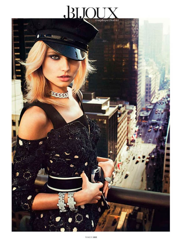 MagdalenaBeauty6 - Magdalena Frackowiak for Vogue Paris