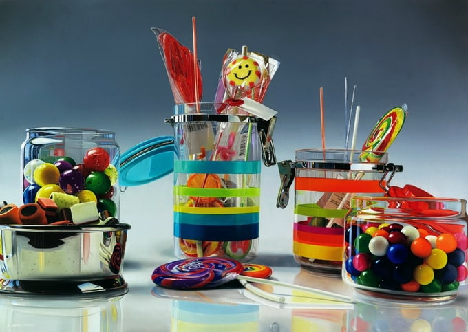 Photorealistic Paintings by Roberto Bernardi