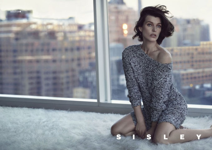 Milla Jovovich Stars in Sisley's Spring 2013 Campaign -photo session, Milla Jovovich
