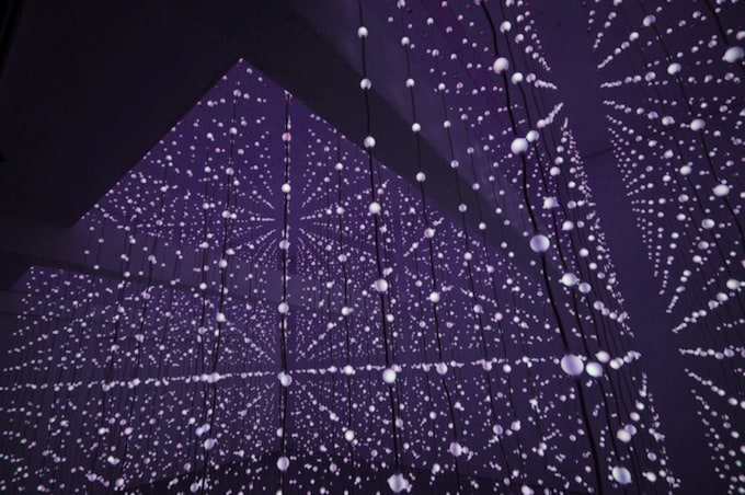 Ocean of Light: Surface by Squidsoup -installation