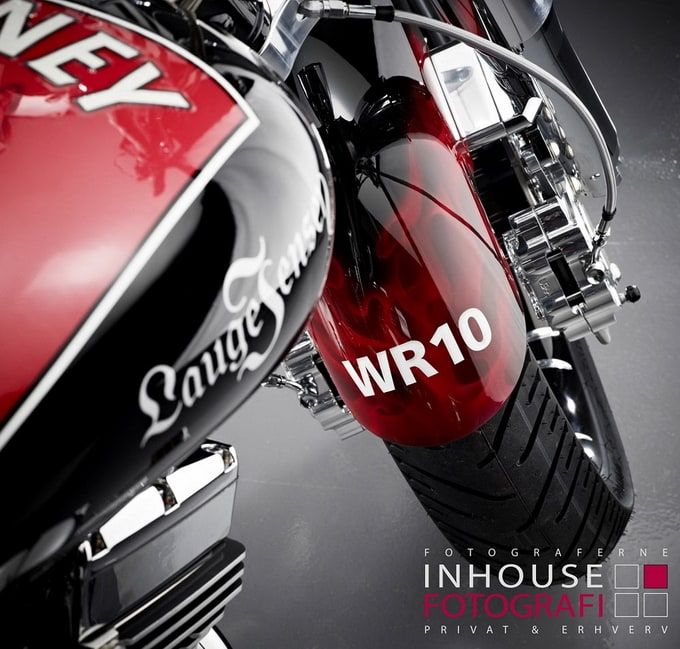 2012 Lauge Jensen 'Wayne Rooney' Custom Motorcycle