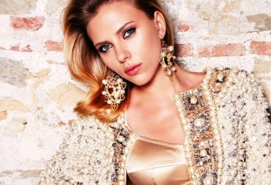 Scarlett Johansson in the baroque style