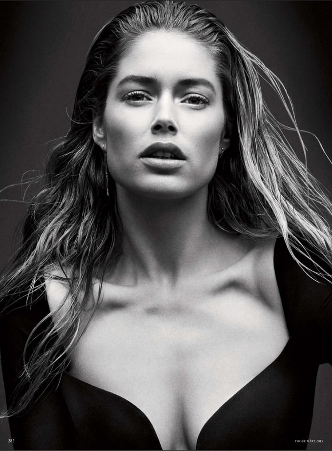 Doutzen Kroes for Vogue Germany -Vogue Germany, Doutzen Kroes