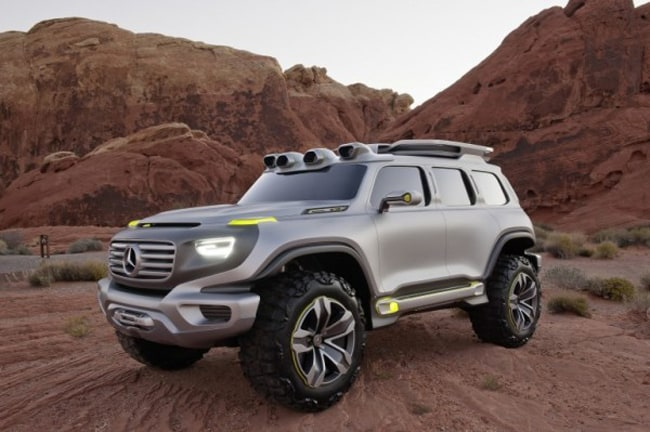 Mercedes Benz G-Force Concept Design