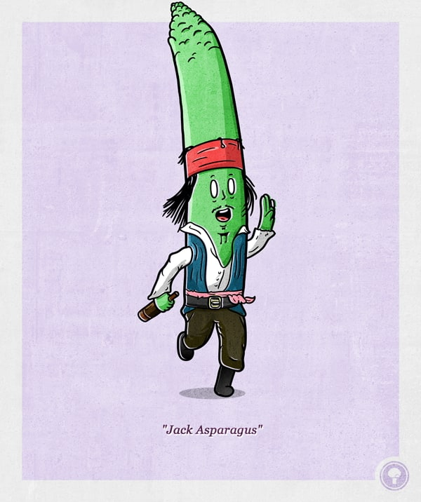 Pop Culture Icons as a vegetables -Lady Gaga, celebrities, beatles