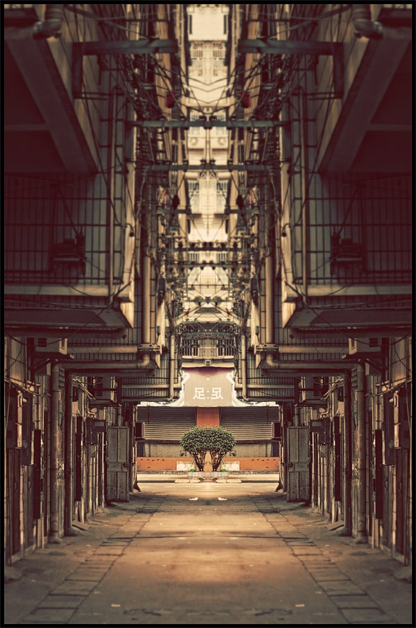 """""""China in a Mirror"""" by Atelier Olschinsky -china"""
