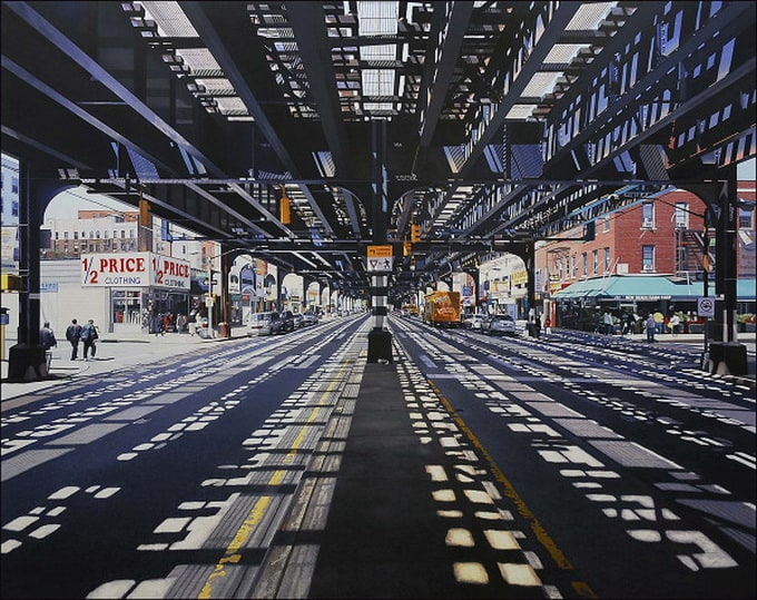 Amazing Photorealistic Oil Paintings of Urban Landscape by Nathan Walsh -photorealism, paintings, artist
