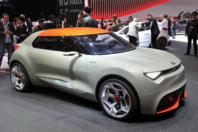 Concept Car Kia Provo at the Geneva Motor Show