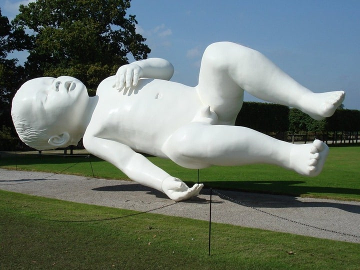 Weightless Sculpture by Marc Quinn -sculpture
