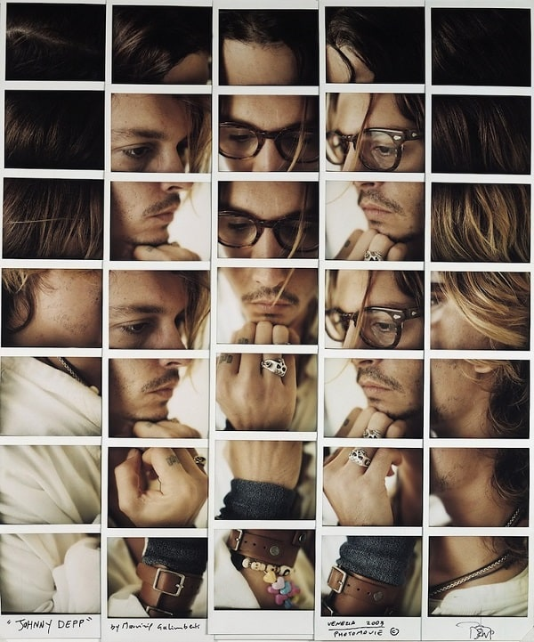 Collage of Celebrities by Maurizio Galimberti