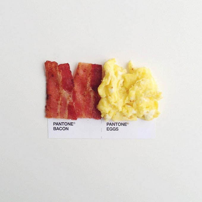 Pantone Food Matches by David Schwen