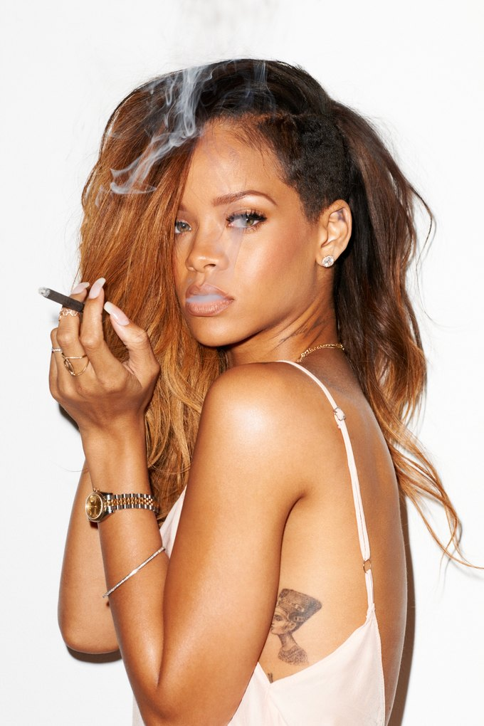 Rihanna for the Rolling Stone Magazine -terry richardson, Rihanna, magazine