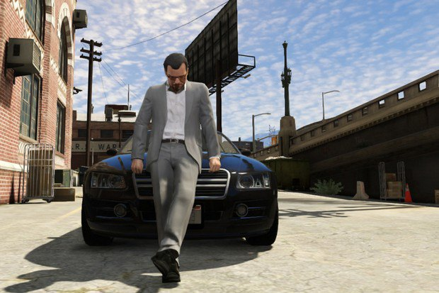 "New screenshots from the game ""Grand Theft Auto V"" -news, game"