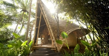 Bamboo Houses in Bali