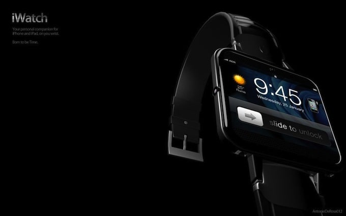 iWatch2 concept 6 - Apple's Hybrid Smartphone and iWatch