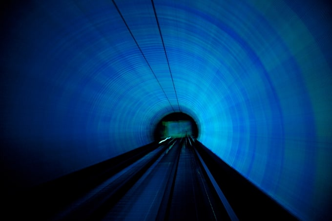 """Sightseeing Tunnel"" by Jakob Wagner -tunnel, shanghai, light, germany"