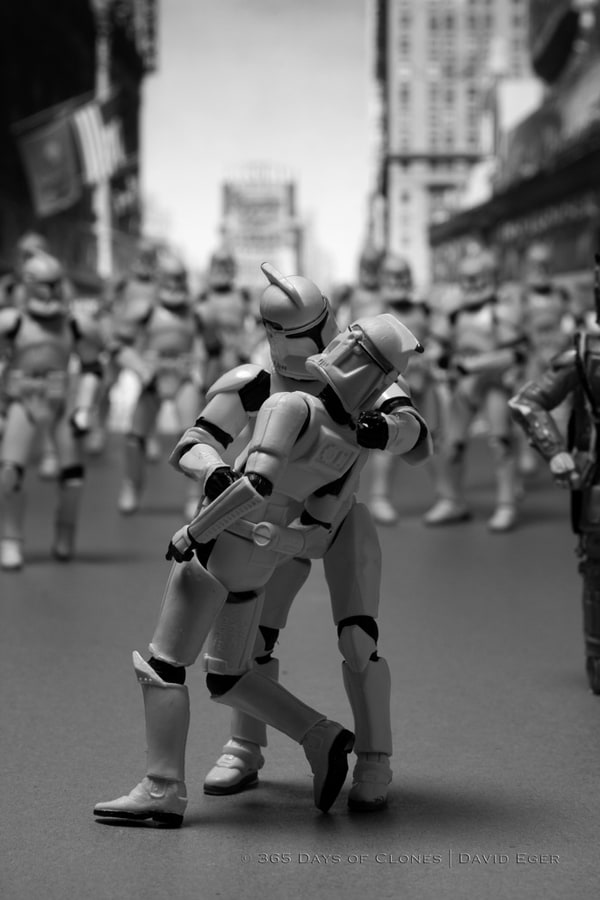 Iconic Images Recreated Featuring Troopers from Star Wars -Star Wars, photo-series, photo