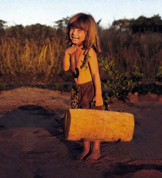 Tippi Degre little girl who grew up with Africa's wild animals -photo-series, nature, animals, africa