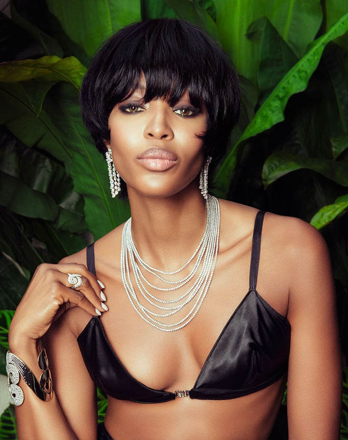 Naomi Campbell Wigs Out For Vogue Brazil -Vogue Brazil, photo session, Naomi Campbell, models