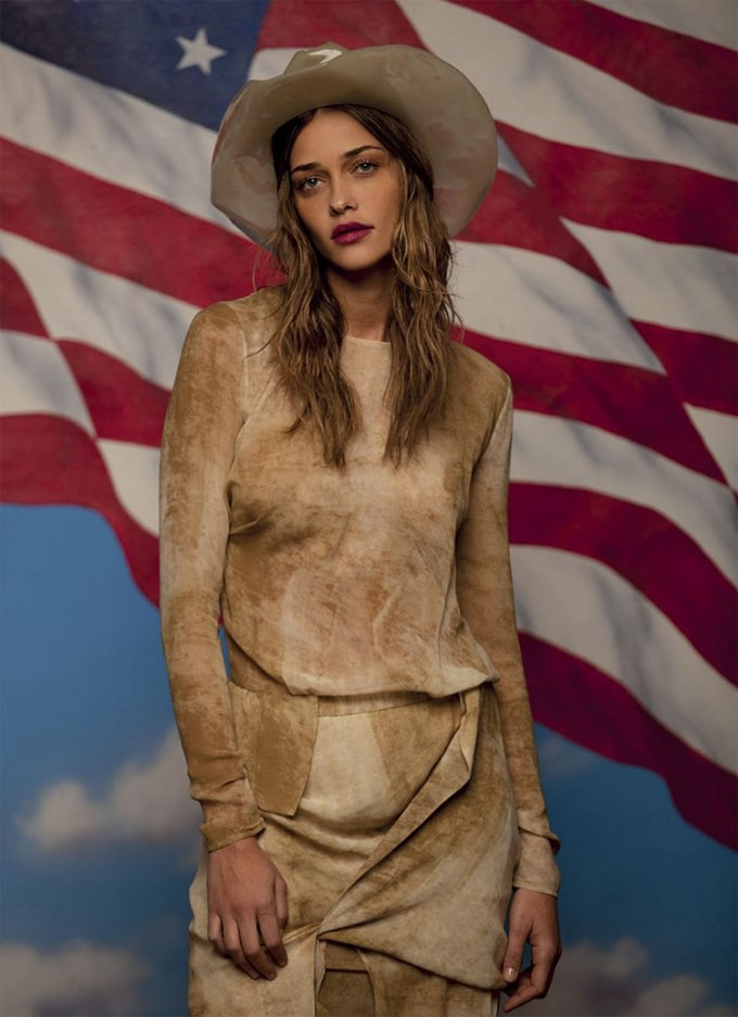 """A Certain Americana"" by Grey Magazine -models"