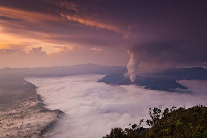 Mount Bromo in Indonesia -mountains, Indonesia