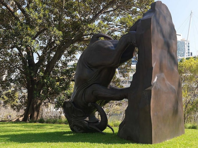 """The World Turns"" sculpture by Michael Parekowhai -sculptures"