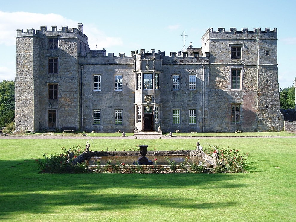 1. Chillingham Castle, Chillingham, the county of Northumberland, North of England
