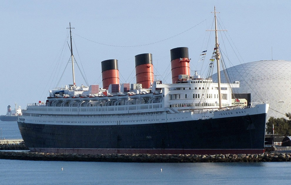 2. Queen Mary, Long Beach, California, USA