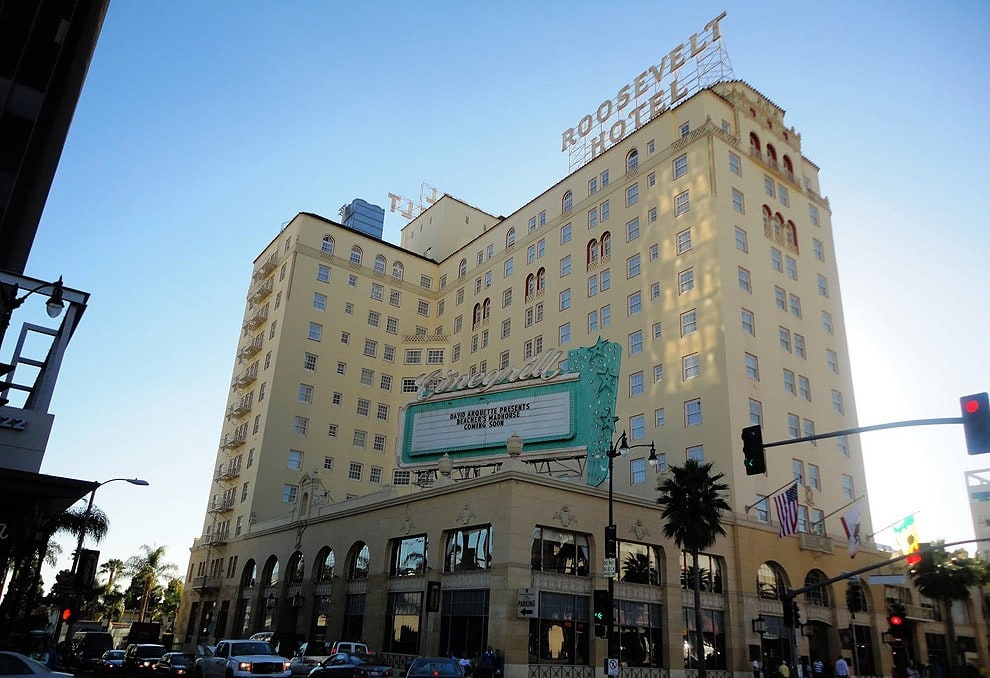 8. Hollywood Roosevelt Hotel, Los Angeles, California, USA