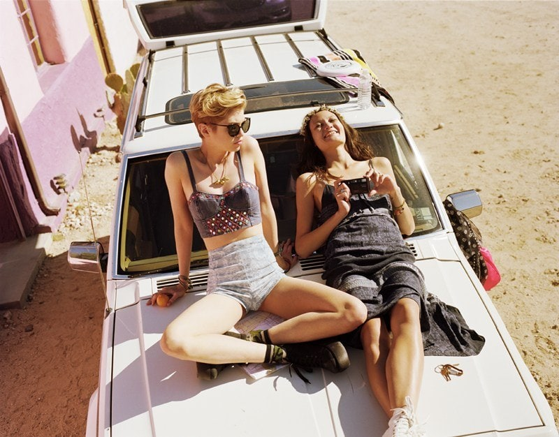 Rachel Rutt and Stella Maxwell for Urban Outfitters -