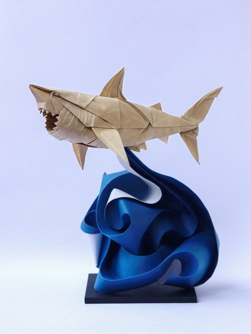 Origami Great White Shark