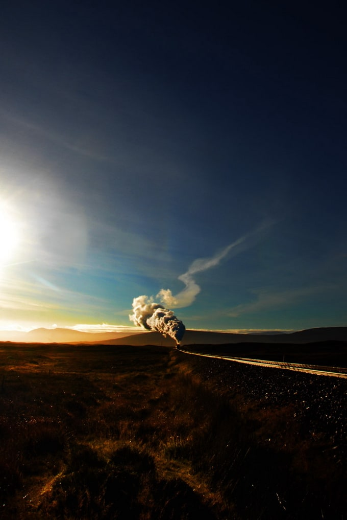 Photos of Trains' by Robin and Taliesin Coombes -