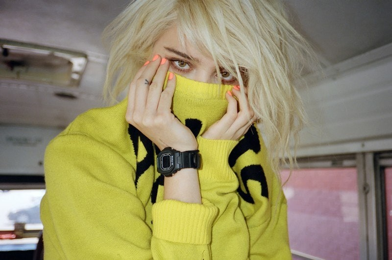 Sky Ferreira for ASOS Magazine, July -model, magazine