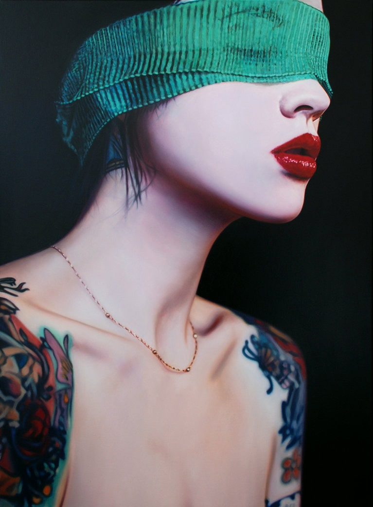 Hyper-Realistic Oil Paintings by Philip Munoz -hyper-realistic