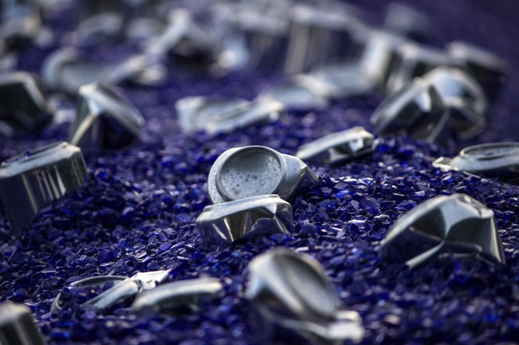 Cans in Blue by Harry Horstmann -photography, canon