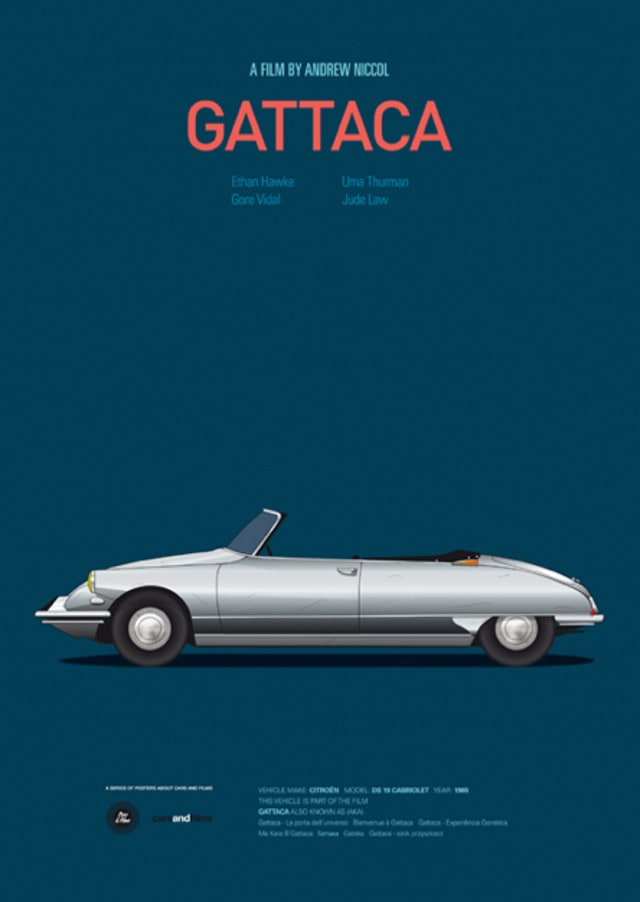 pfc1 - Posters with cars from movies by Jesús Prudencio
