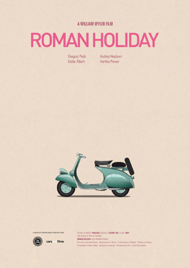 pfc12 - Posters with cars from movies by Jesús Prudencio