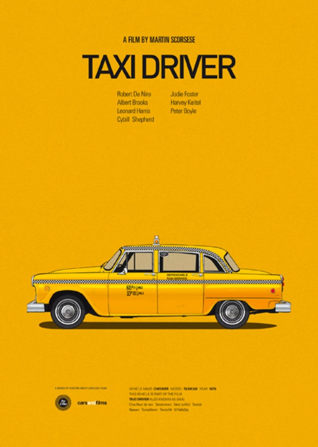 pfc7 - Posters with cars from movies by Jesús Prudencio