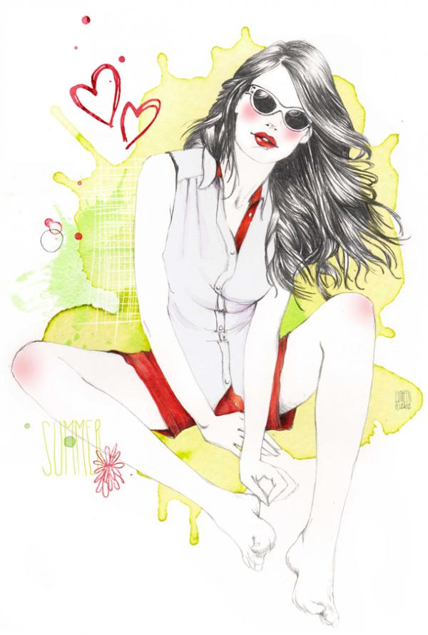 Fashion Illustrations by Lutheen -