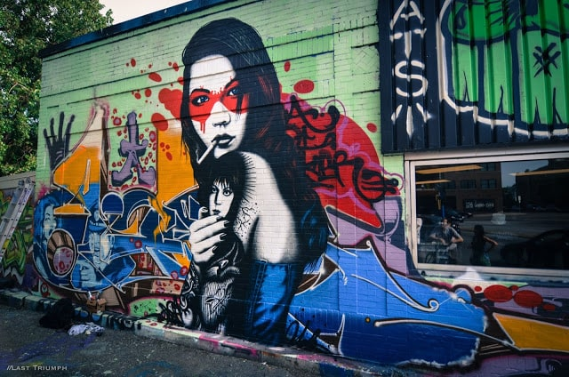 Fin DAC New Mural in Minneapolis -public